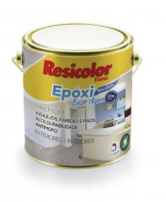 Tinta Epoxi Base Água Branco Resicolor – 3,6L