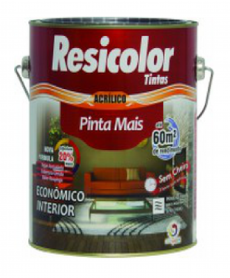 Pinta mais Branco Resicolor 300m² – 900 ml