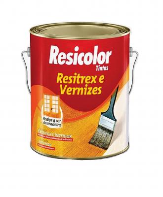 Resitrex e Verniz Maritimo Fosco Resicolor – 900ml