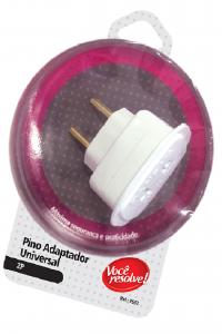 Pino Adaptador Universal 2P 1