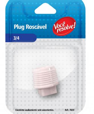 Plug Roscável – 3/4″