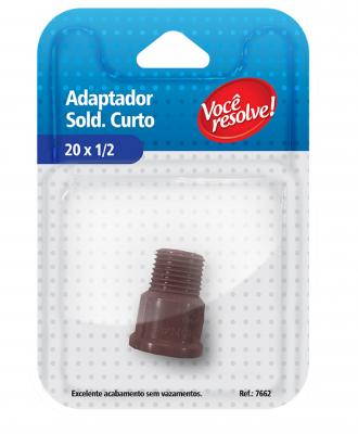 Adaptador Soldável Curto 20×1/2