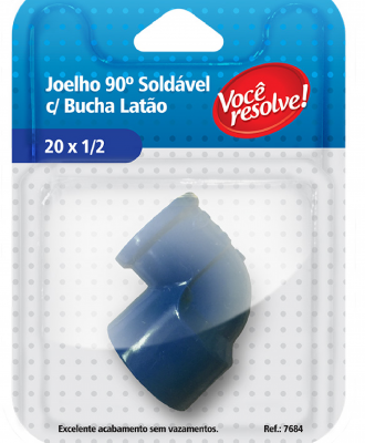 Joelho 90º com Bucha  – 20×1/2″