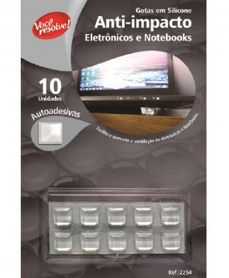 Gotas de Silicone Anti-Impacto para Eletrônicos e Notebooks – 10 unidades