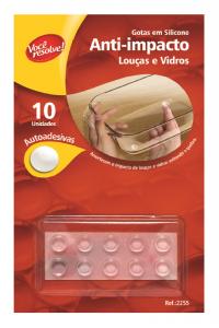Gotas de Silicone Anti-Impacto para Louças e Vidros – 10 unidades