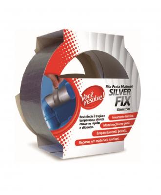 Fita Prata Multiuso Silver Fix Você Resolve – 48mm x 5m